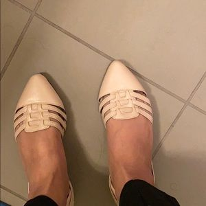 Blush belly shoes - never worn!